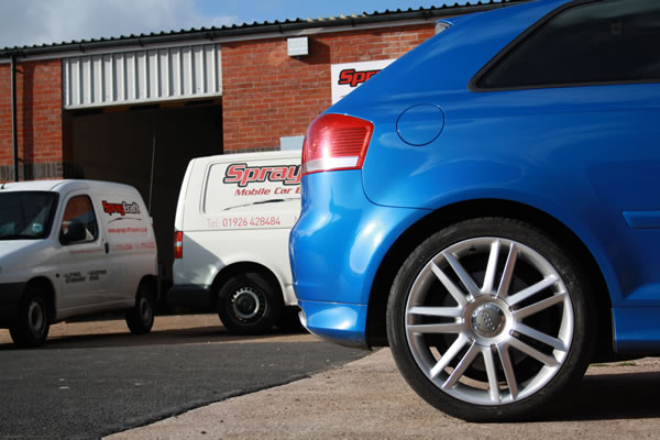 audi s3 dents scratches alloy wheelsl refurbishment stratford upon avon leamington spa